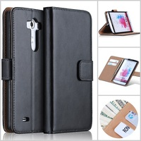 G3 Cell Phone Case For LG G3 Case Flip Leather Cover For LG G3 Stand With Card Slots Design Free Shipping