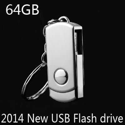 Metal USB Flash Drive 8gb 16gb 32gb 64GB Pen Drive Pendrive Hanging buckle Memory Card Stick Drives MicroData Pendrives 2014 New(China (Mainland))