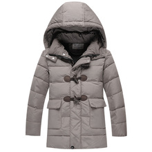 Children's down jacket and long sections Down boy boys 2013 new winter jacket for men and children's wear authentic(China (Mainland))