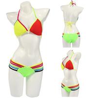 swimwear bikini set swimsuit  pad  beachwear Sexy Women drop Shipping Fashion Gift