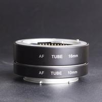 Metal Auto Focus Metal AF Macro Extension Tube Adapter Suit for Sony NEX-5R NEX-3NNEX-5C A7 A7R NEX-5R NEX-7 Camera