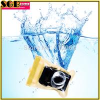 Waterproof Digital Camera Case Underwater Dry Bag Pouch Outdoor Yellow