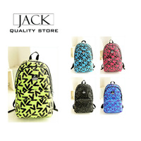2014 new  men's women backpack waterproof anti-wrinkle sport bag travel bags school bags Laptop bag mochila wholesale