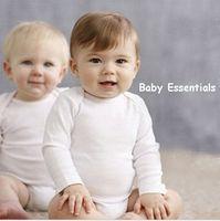 Retail Original Carters & Oshkosh baby clothing , Baby Boys Bodysuit, White Baby Long&Short Sleeve Bodysuit, Freeshipping