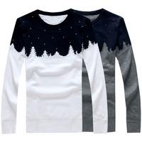 New arrival autumn winter knitted men's sweater slim pullover for men