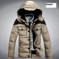 Novelty Man Coat Parkas Down Coats Hooded Men's Clothing Outwear Thick Jackets Napka Jaqueta Male Jaquetas 2014 New COAT-2823190