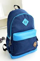 Factory outlets new Korean middle school bags shoulder bag female college storm tide point rucksack backpacks women