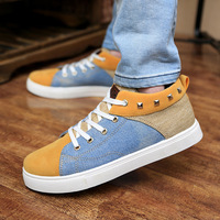 Size 39-44 men shoes 2014 spring new fashion men canvas shoes, men casual shoes breathable shoes 3 colors, free shipping