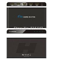 1x4 HDMI 1080P Video Audio Splitter Extender, 1-input 4-output / Splitter +Extender, Real Support 4Kx2K, Support 3D Format