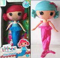 Free shipping Lalaloopsy button eyes mermaid doll toys series, 30 cm mga.to classic girl toys, color random