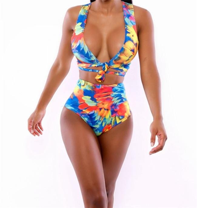 Drop Shop Women Summer 2014 Strapless Shorts Women Swimwear Sexy Swimsuit Beachwear 2 Piece High Waist Bathing Suit(China (Mainland))
