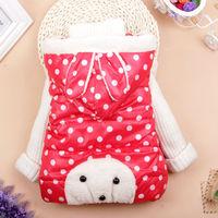 New 2014 children's outerwear lovely rabbit Girl Hooded vest Free shipping