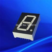 1 inch super green single digit 7 segment led digital display common anode