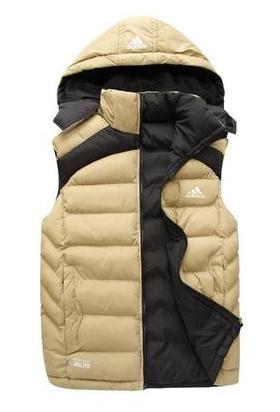Duck Down Vest men 2014 Winter Hot Sale 90% Duck Down Vest Men's Hooded Warm Double outerwear Jacket Brand down waistcoat(China (Mainland))