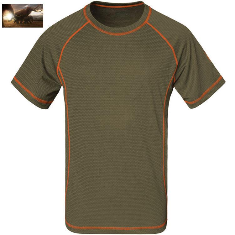 2014 Summer mammoth brand casual t-shirt, men coolmax t-shirt, Outdoor Sport Quick-drying T-shirt, Fast Dry Cycling t shirt(China (Mainland))