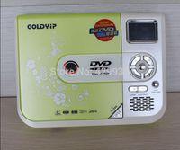 Portable dvd machine cd walkman cd player support mp3 cd dvd