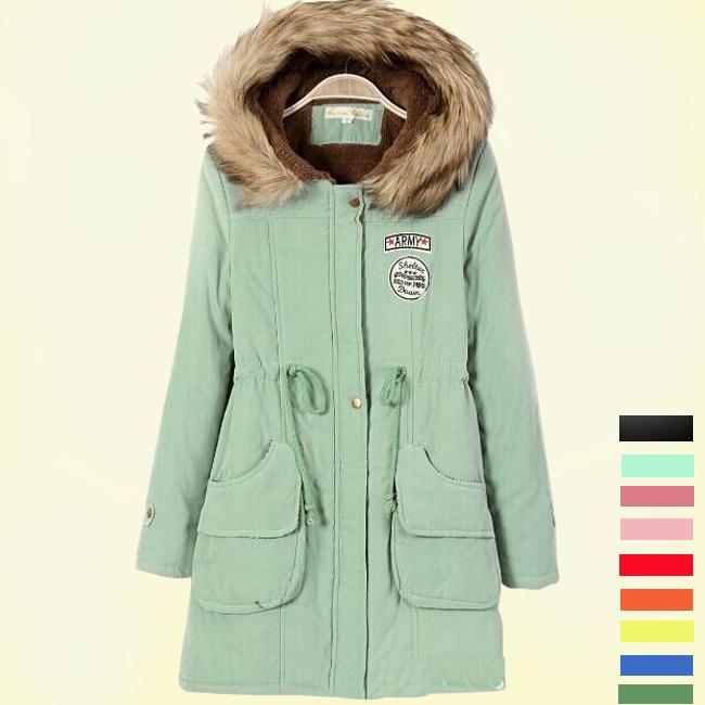2015 Europe Popular New Brand Autumn and Winter Wear Long Hooded Coats Women Coats long sleeve jacket TSP1653(China (Mainland))