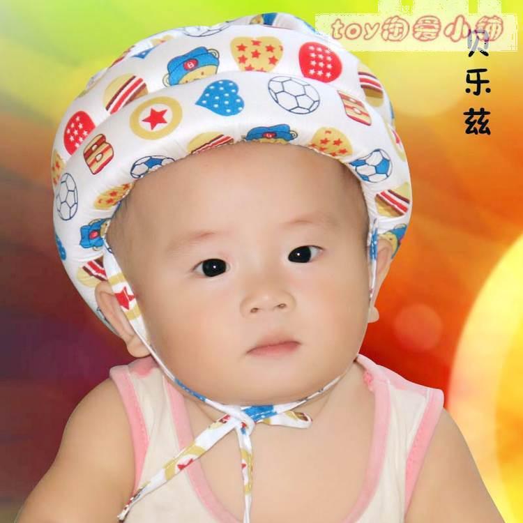 Light Cute Kids Sweet HatsToddler Baby Headguard Protective Safety Helmet Infant Headguard No Bumps Adjustable Caps CET001(China (Mainland))