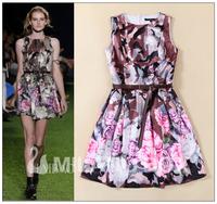 2015 runway dresses women high quality dresses brand dresses