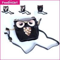 2014 Hot Sale Korean Leather Shoulder Bags Cartoon DHL Cute PU Leather Handbag Mini Size Casual Women Messenger Bag Drop Ship