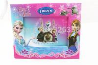 Wholesale 12pcs kids Frozen Photo Frame/baby girls princess Elsa Anna Picture frame/Children cartoon rahmen,20.5*17cm,mix up