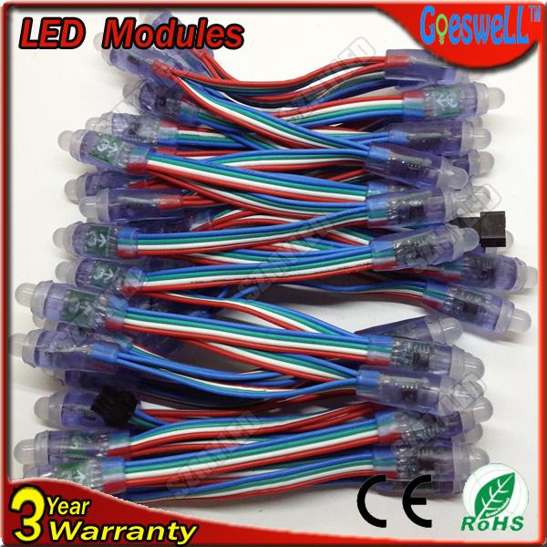 1200pcs/lot rgb led string light advertising letter DC5V high brightness led pixel string module IP65 lpd6803 Led modules(China (Mainland))