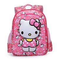 2014 New arrival 3d Eva school bags for teenagers hello kitty mochilas school kids backpacks size:36*30*12cm 2 color