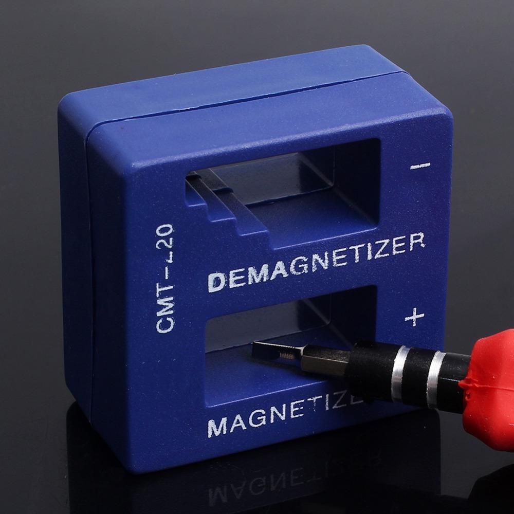High Quality Magnetizer Demagnetizer Tool Blue Screwdriver Magnetic