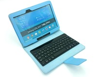 Leather case&covers for Samsung Galaxy Tab pro 10.1'' T520 + Wireless bluetooth keyboard Russian or US Enligsh layout