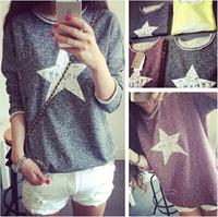 2014 autumn  fashion women Pullover brand high quality Sweatshirts casual hoodies vintage long sleeve shirt
