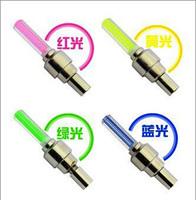 Hot sale Wholesale 8pcs/lot Hot Wheels copious gas nozzle valve light wheel light bicycle light lamp Valve core light QM01