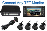 2014 Dual Core CPU Car video Parking Sensor ,Auto parking Connect Car DVD Monitor And Rearview Camera