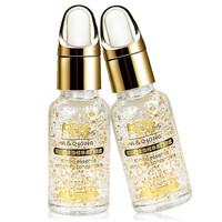 Aqiong 24k Gold Face Care Essential Oils Skin Care Hyaluronic Acid Liquid Cream Whitening Moisturizing Anti-Aging Treatment 3PCS