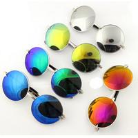 coating sunglass oculos men women brand designer fashion glasses new 2014 oculos de sol feminino round vintage sunglasses