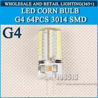 AC220V High Power G4 3W 32LED 6W 64LED 9W 96LED Lamp Replace 50W halogen lamp 360 Beam Angle LED Bulb lamp