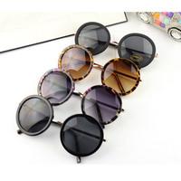 round sunglasses circle lens fashion sun glasses coating women brand designer outdoor fun & sports lenses glasses mens