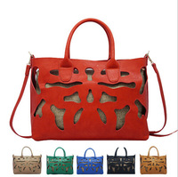 2014 women bag fashion hollow out handbag women shoulder bag OL handbag high quality free shipping