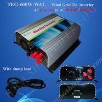 wind on grid inverter 600w wind power inverter 600w ac 12v 24v to ac 110v/120v/220v/230v/240v