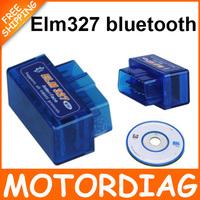 production 2014 latest Wholesale BT ELM327 Bluetooth OBDII V2.1 CAN-BUS Scanner,Bluetooth ELM 327 OBD 2