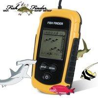 Portable Wireless Fish Finder 2'' LCD Screen digital Sonar Sensor Finder Fishing Camera Sounder Alarm Transducer Fishfinder 100m