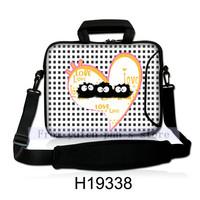 Fancy Heart Print Laptop Accessories Hot Selling Laptop Shoulder Case New Design Notebook Bags 10Pcs/Lot