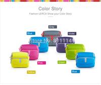 Freeshipping-Fashion LERCA Blue Digital Camera Shoulder Bag Case For Nikon P600,D7000,D90,D610,D300S,AW120S,AW110S,S9600,S8000