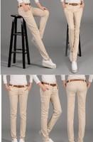 2014 ol pencil pants slim harem pants trousers female trousers casual pants free shipping