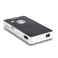 LCoS Pico Projector Aiptek Pocket Cinema LED video projector Q20 Q1080p (960 x 540) Battery Pack Power Bank