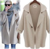 Autumn&Winter Women's outerwear medium-long slim all-match fashion long-sleeve sweater female cardigan normic
