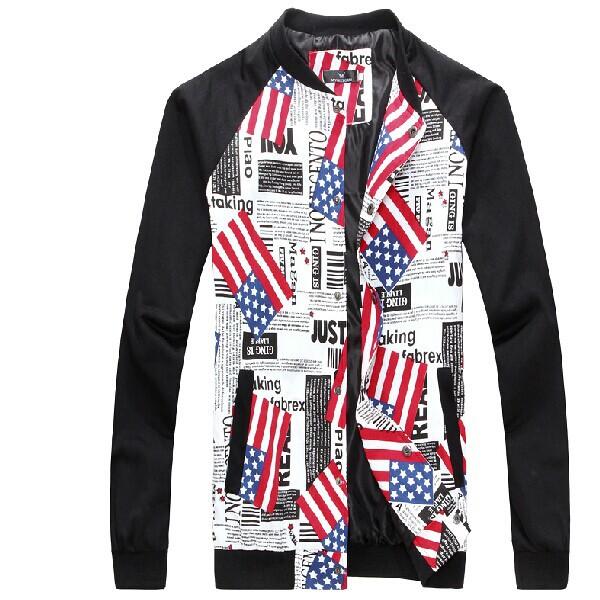 2014 Autumn NEW Men's Baseball Jackets Uniform Men Fashion Patchwork