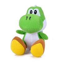 "2014 High Quality 6"" inch Green Sit Dragon mini Plush Toys Animal Doll Baby Soft Toy #15 SV007821"