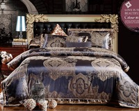 Excellent 4 pcs Quality Jacquard Luxury Bedding Set. Fast Free shipping!!!