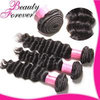 Beauty Forever 3pcs/Lot Malaysian Deep wave Unprocessed Malaysian Virgin Hair Extension 6A Malayian Curly Hair Human Hair Weave