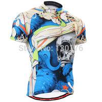 2014 Personalized Print Fashion Men`s Short Cycling Jerseys Hombres Manga Corta MTB Bike Fitness Short Sleeves Ropa De Ciclismo